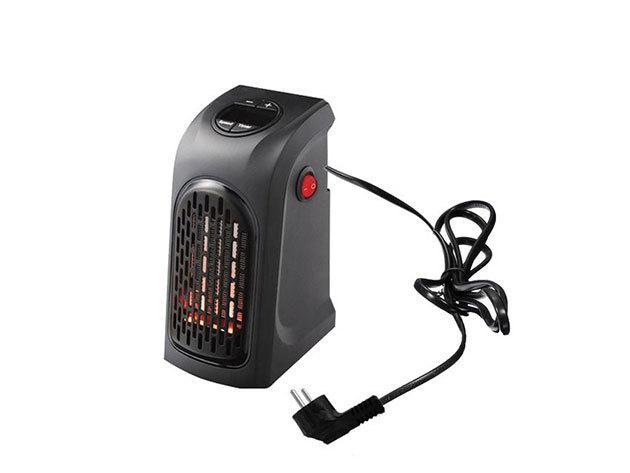 LCD kijelzős mini hősugárzó vezetékes - HOP1000772-2