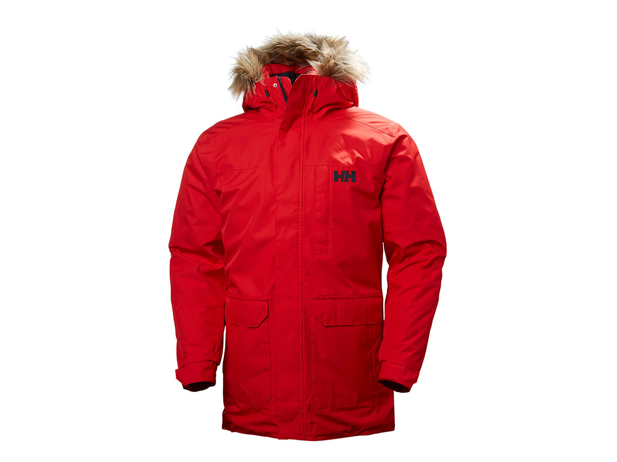 Helly Hansen DUBLINER PARKA - FLAG RED - XL (54403_110-XL )