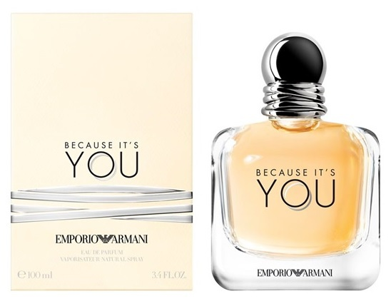Giorgio Armani - Emporio Armani Because It's You, Eau De Parfum nőknek (100 ml)