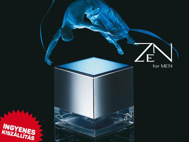 Shiseido, Zen For Men Eau De Toilette (100 ml) eredeti parfüm férfiaknak ingyenes kiszállítással