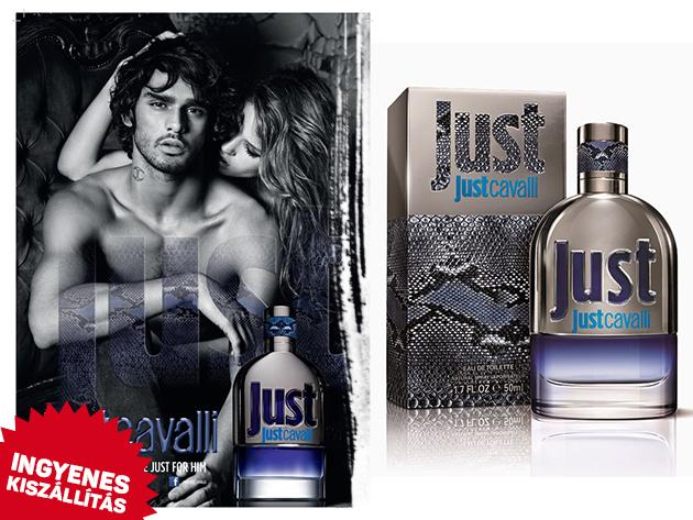 Roberto Cavalli, Just Cavalli For Men Eau De Toilette (90 ml) eredeti parfüm férfiaknak, ingyenes kiszállítással