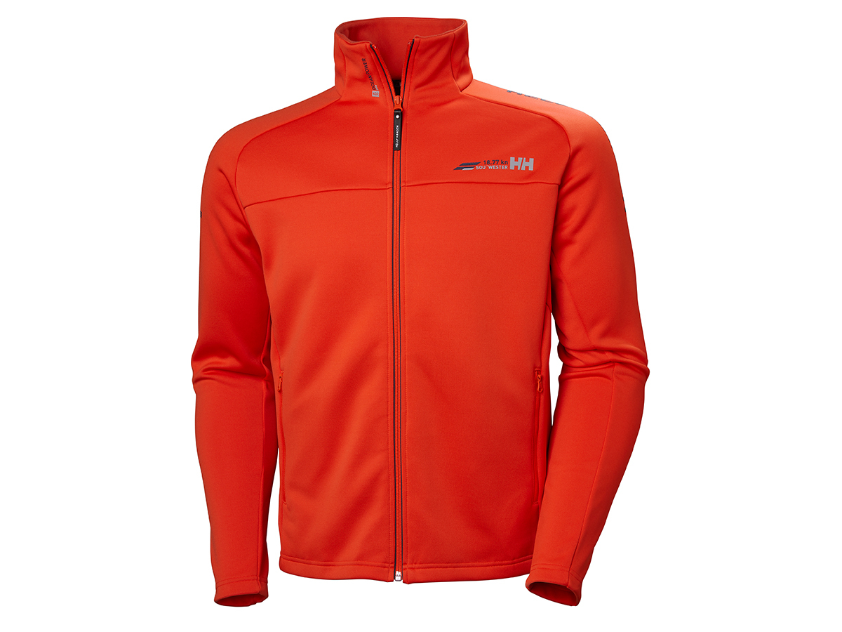 Helly Hansen HP FLEECE JACKET - GRENADINE - L (54109_135-L )