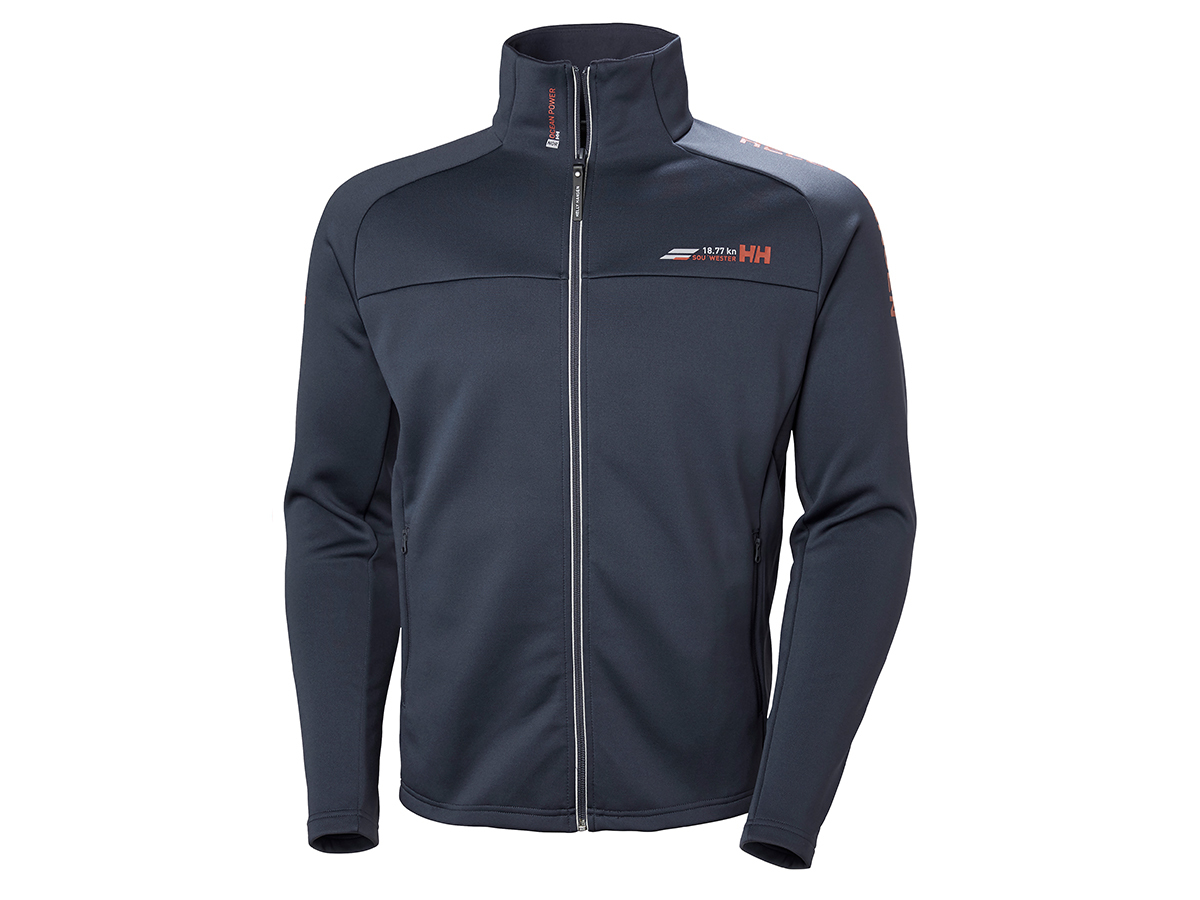 Helly Hansen HP FLEECE JACKET - GRAPHITE BLUE - XL (54109_994-XL )