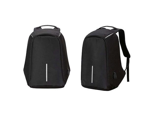 Lopásbiztos hátizsák fekete - HOP1000827-1