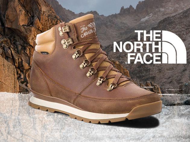 The North Face férfi bakancs  - Back To Berkeley Redux Leather, vízálló bőr felsőrésszel, kényelmes kialakítással, prémium minőségben / 42-44 méretben