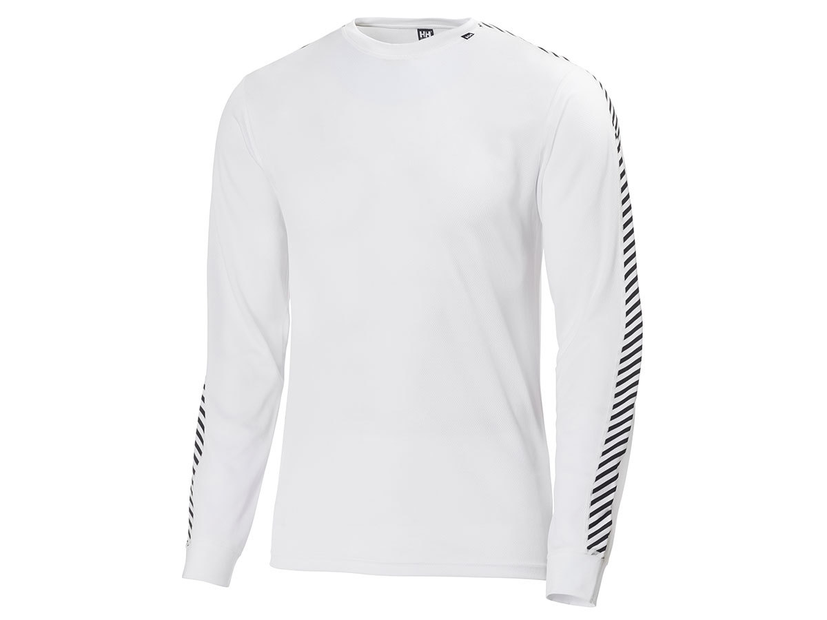 Helly Hansen HH LIFA STRIPE CREW - WHITE - XXL (48800_001-2XL )