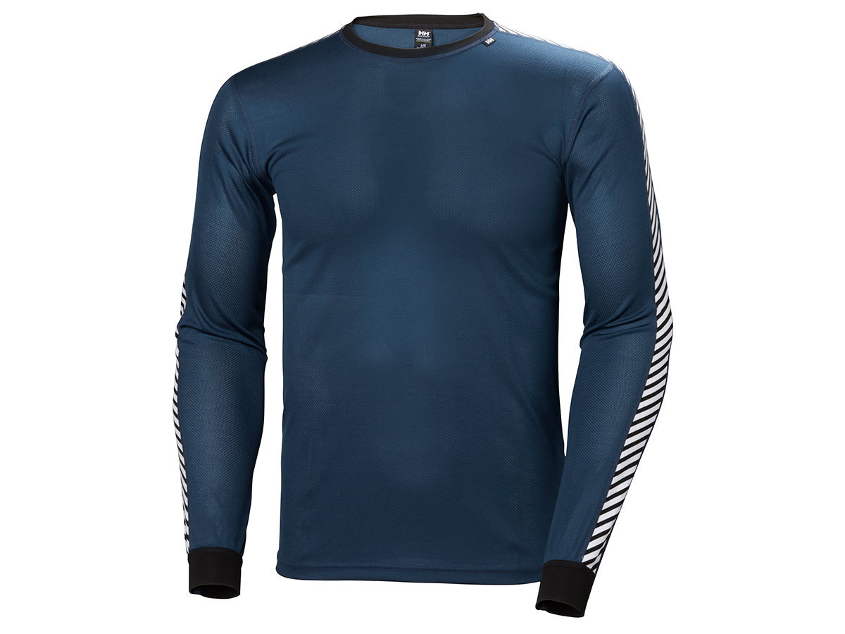 Helly Hansen HH LIFA STRIPE CREW - DARK TEAL - XXL (48800_504-2XL )