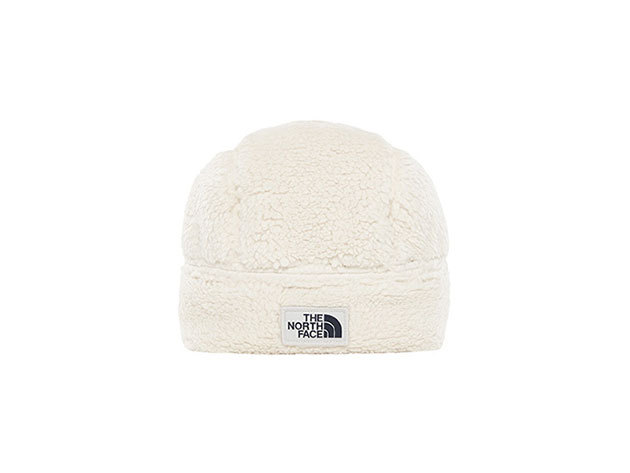 The North Face CAMPSHIRE BEANIE VINTAGE WHITE - T93FGO11P
