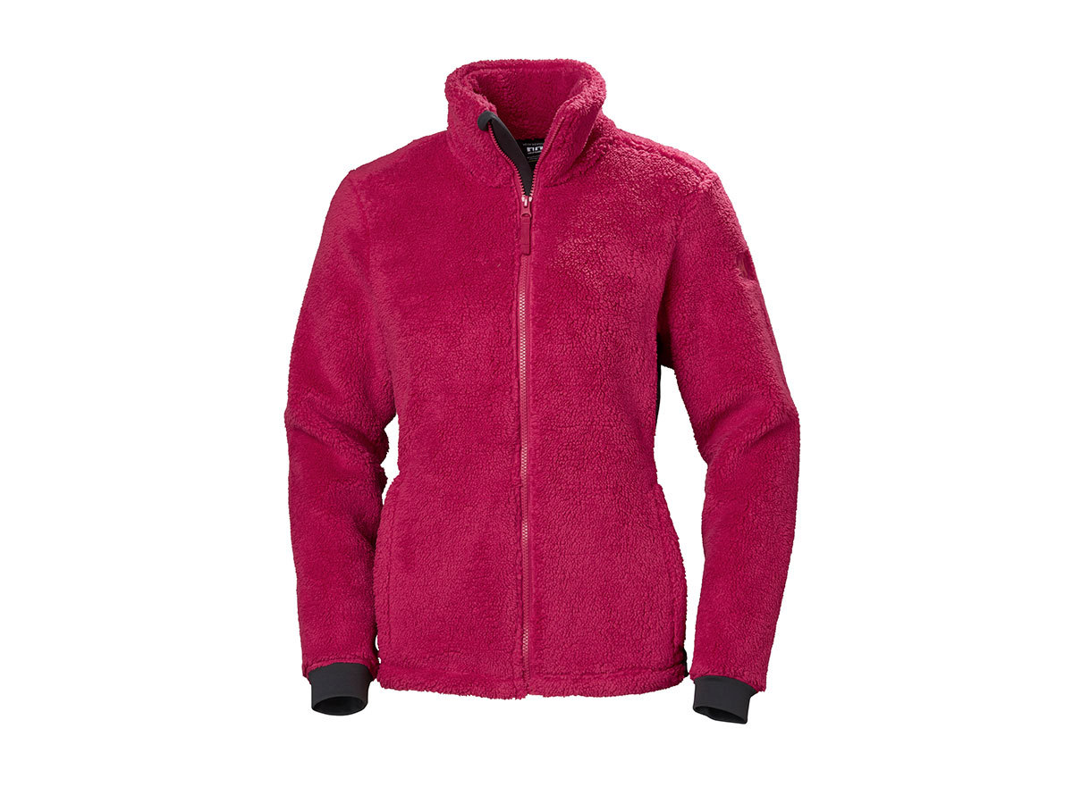Helly Hansen W PRECIOUS FLEECE JACKET - PERSIAN RED - L (51798_183-L )