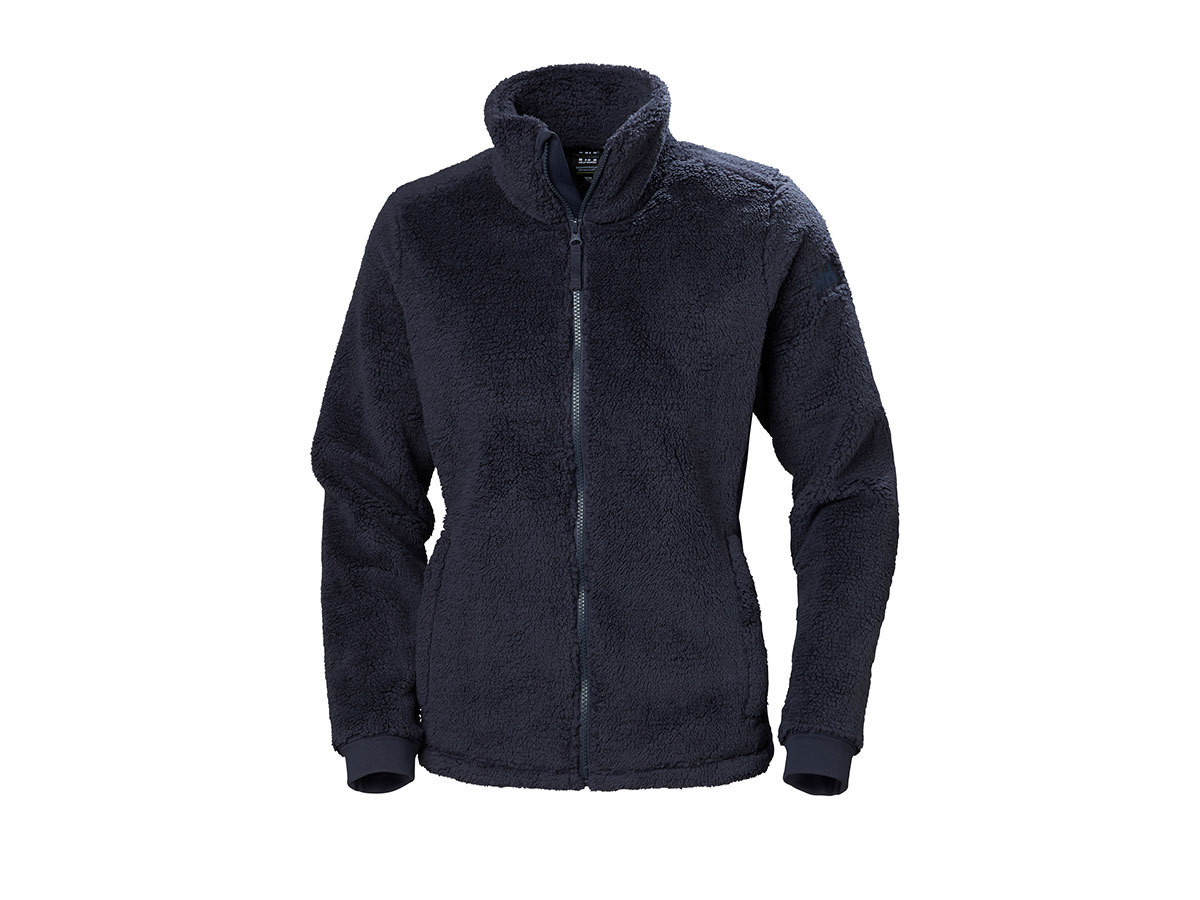 Helly Hansen W PRECIOUS FLEECE JACKET - GRAPHITE BLUE - XL (51798_994-XL )