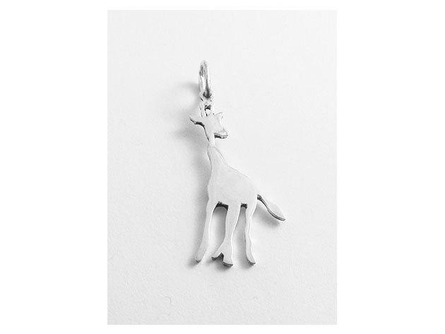 Ezüst zsiráf medál