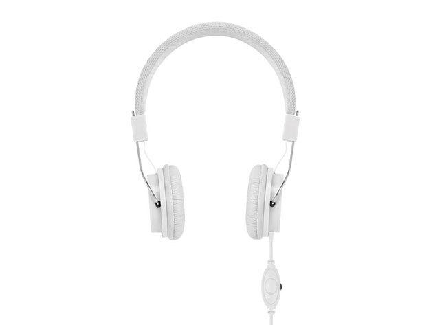 Decibel- kábeles fejhallgató - Fehér