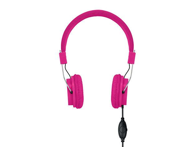 Decibel- kábeles fejhallgató - Ciklámen