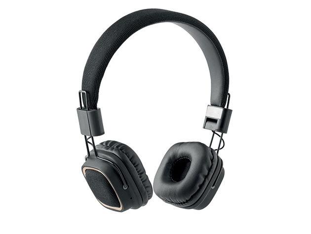 RHYTHM- Retro fejhallgató (bluetooth) - Fekete