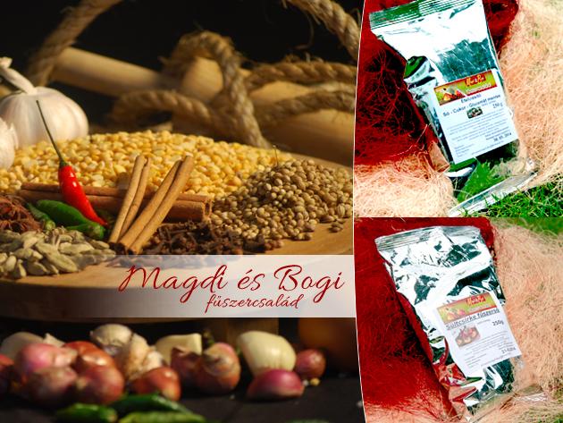Sómentes ünnepi fűszerkeverékek kiváló hazai alapanyagokból, ajándék tengeri sóval!