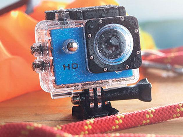 """Sportkamera 2""""érintőkijelzővel, vízálló tokkal - Örökítsd meg minden pillanatát kedvenc időtöltésednek!"""
