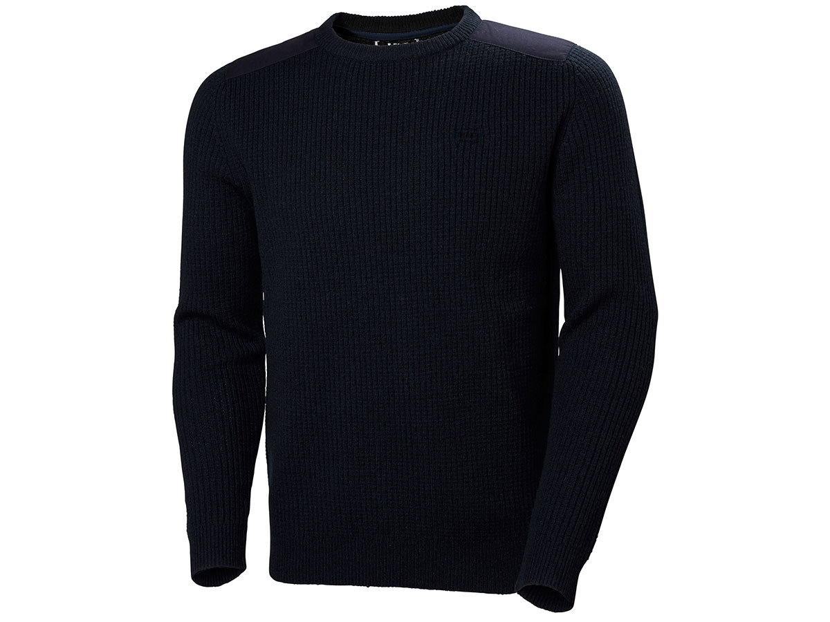 Helly Hansen HP SHORE SWEATER - NAVY - XXL (33993_597-2XL )