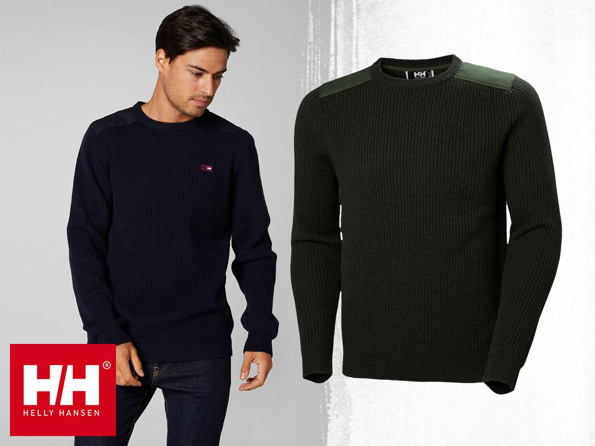 Helly Hansen HP SHORE SWEATER férfi pulóverek meleg gyapjú anyagból a könnyed elegancia jegyében (S-XXL)