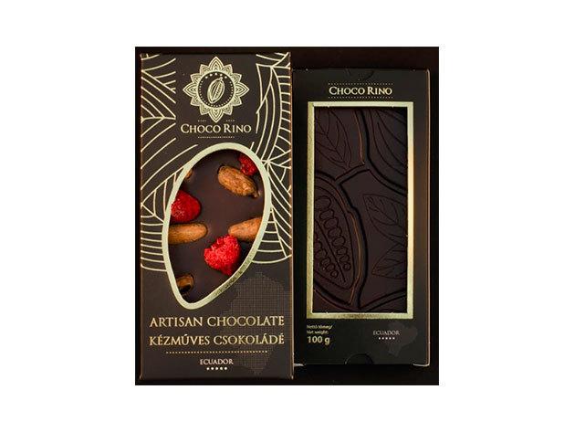 Csokoládé Chocorino Kakaóbab - málna 70% - AZONNAL ÁTVEHETŐ