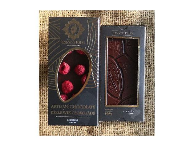 Csokoládé Chocorino Málna 70% - AZONNAL ÁTVEHETŐ
