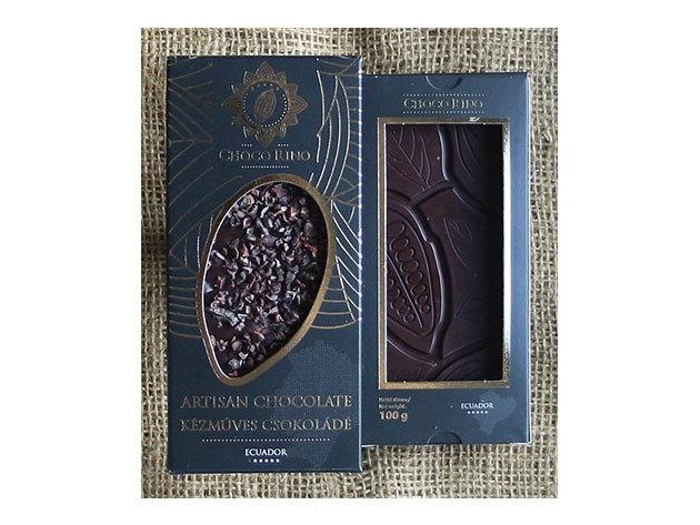 Csokoládé Chocorino Kakaóbab töret 70% - AZONNAL ÁTVEHETŐ