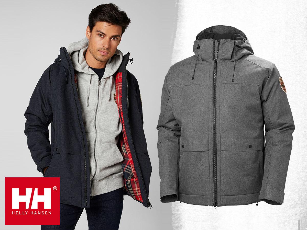 Helly Hansen HH NORSE PARKA CHILL  férfi kabát, vízálló, szélálló és lélegző kialakítással, meleg béléssel