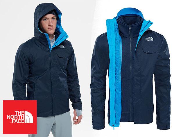The North Face TANKEN TRICLIMATE JACKET férfi kabát - vízálló külső héj és  kicipzározható polár bélés c31d2cf6db