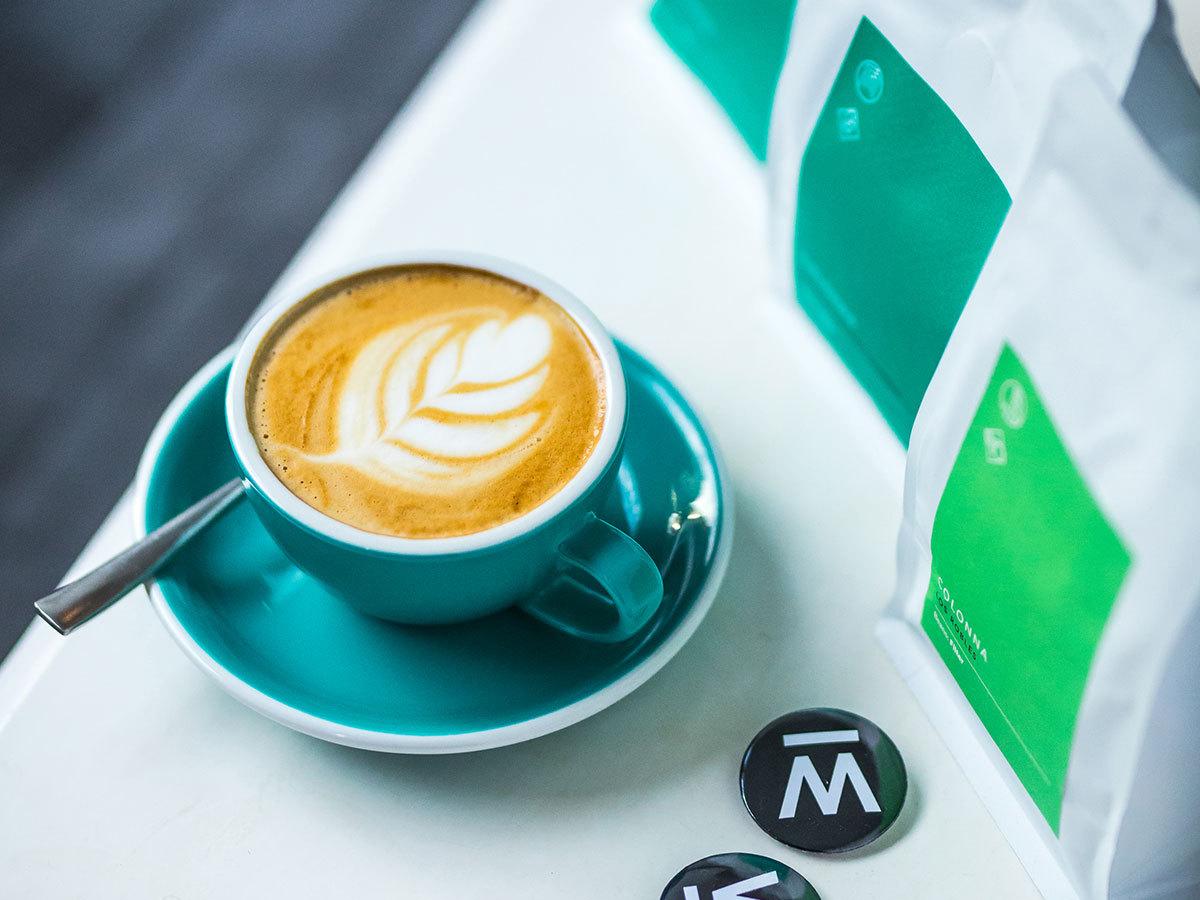 Kávé kóstoló a Warmcup speciality kávézóban / fő