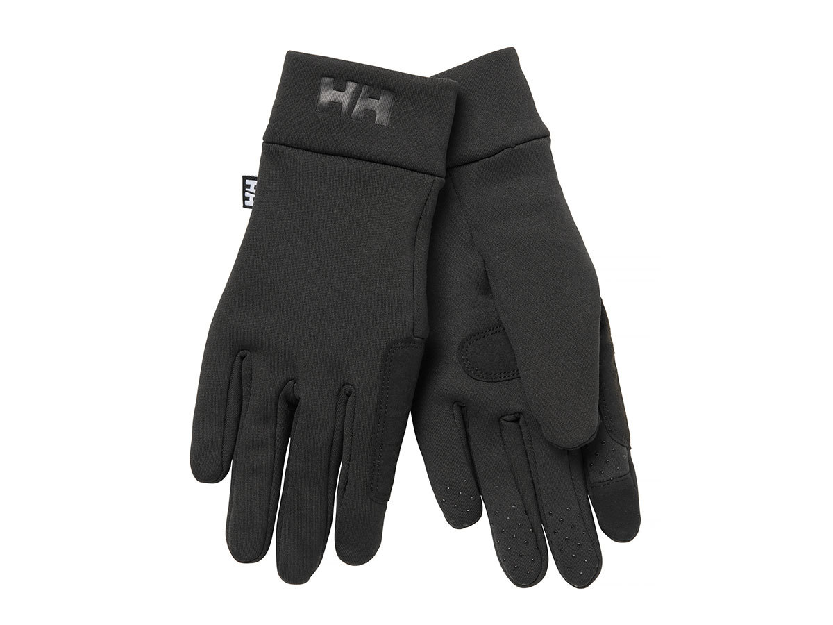 Helly Hansen HH FLEECE TOUCH GLOVE LINER - BLACK - M (67332_990-M )