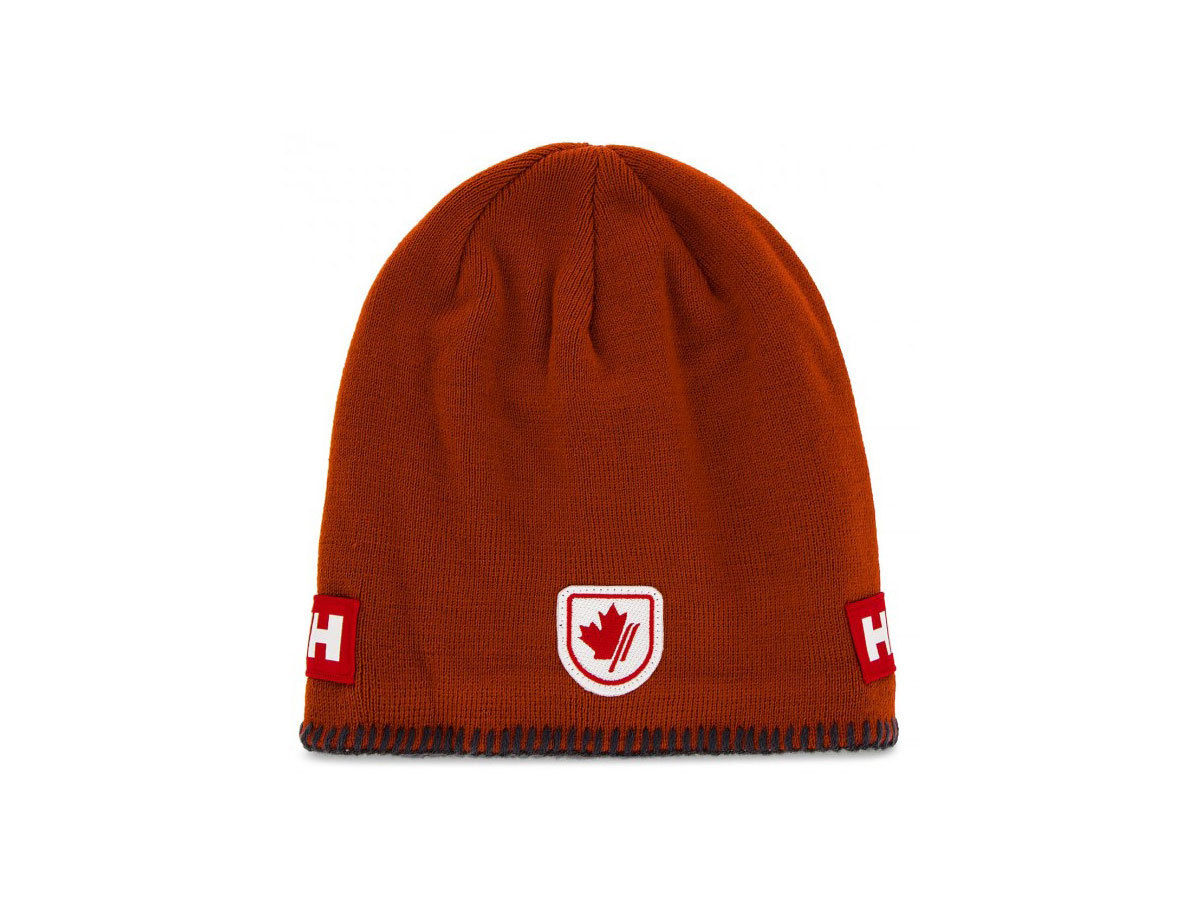 Helly Hansen MOUNTAIN BEANIE FLEECE LINED - RED BRICK - STD (67083_200-STD )