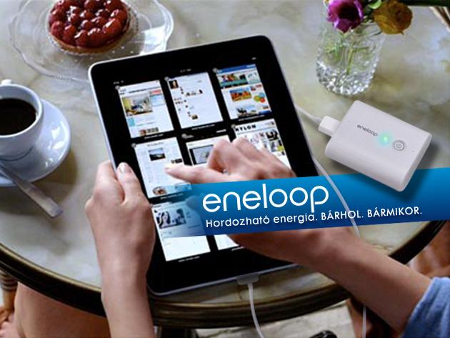 Minőségi tápellátás korszerű készülékeink számára: Eneloop Mobile Booster, akár 35% kedvezménnyel!