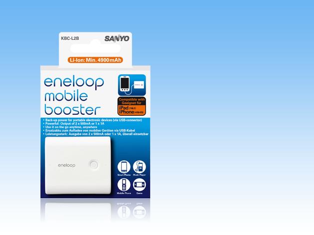 Eneloop Mobile Booster KBC-L2B