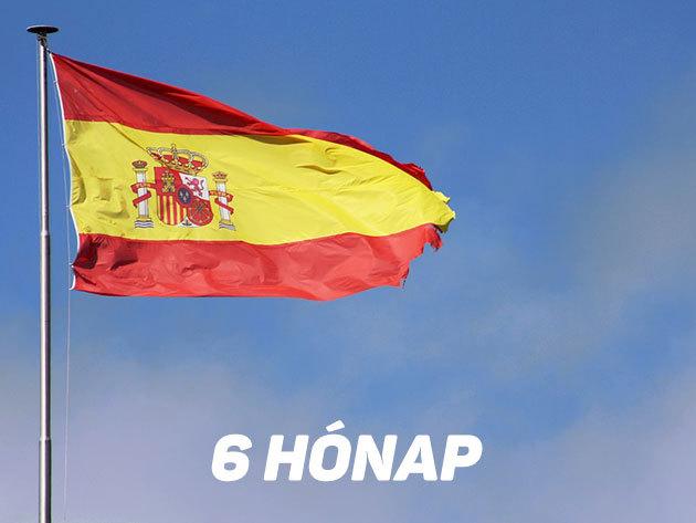6 hónapos képzés / Interaktív online spanyol nyelvoktatás