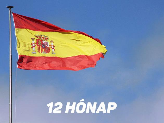 12 hónapos képzés / Interaktív online spanyol nyelvoktatás