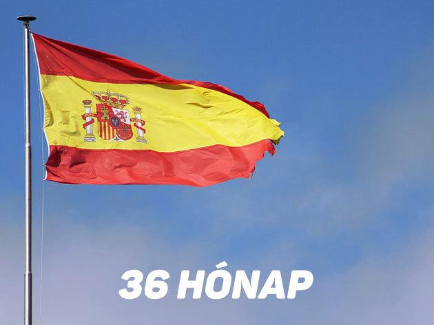 36 hónapos képzés / Interaktív online spanyol nyelvoktatás