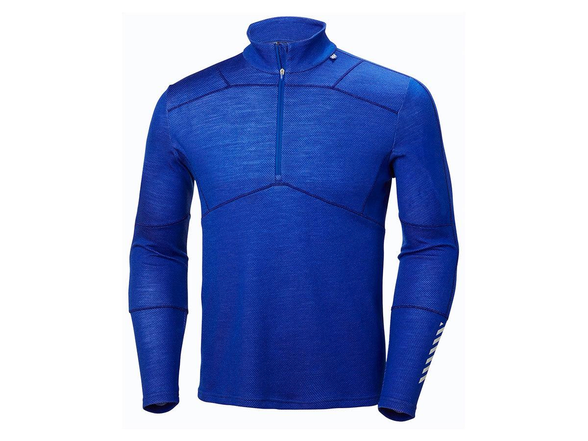 Helly Hansen HH LIFA MERINO 1/2 ZIP - OLYMPIAN BLUE - XL (48318_563-XL )