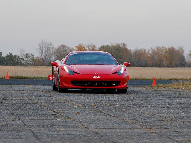 Páros ajánlatok a DRX Ringen 2 fő részére! Tesla Model S 85D- Ferrari 458 Italia 2*3 kör