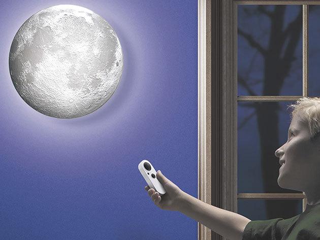 Holdfény lámpa 12 holdfázissal, távirányítóval - a romantikus otthoni környezet megteremtéséhez