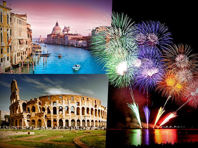 """Ünnepeld az újévet Rómában, szilveszterezz az """"Örök Városban"""" 35% kedvezménnyel!"""