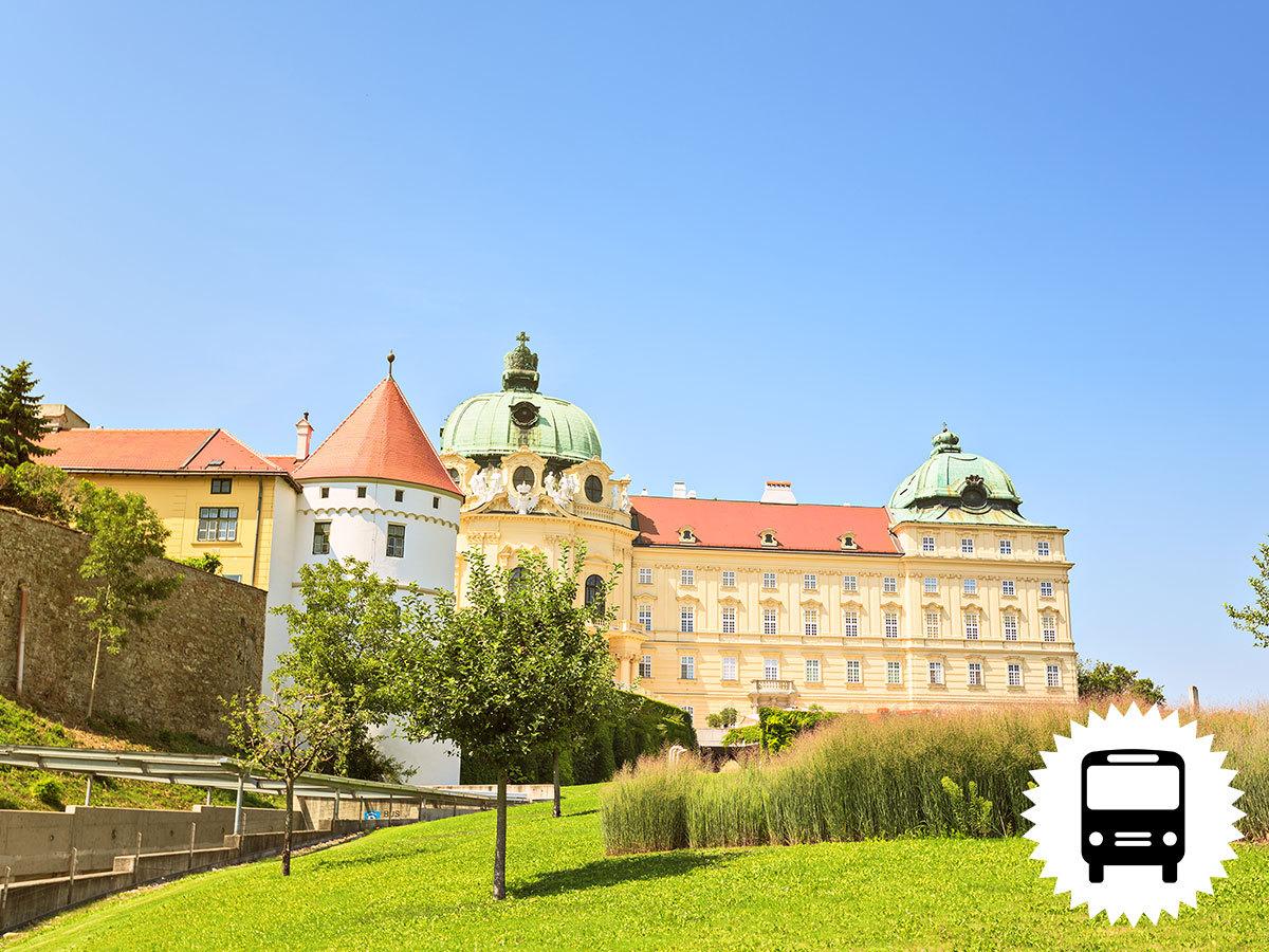 Klosterneuburg kolostor és a 12. Nemzetközi Orchidea kiállítás: non-stop autóbuszos utazás Ausztriába  / fő
