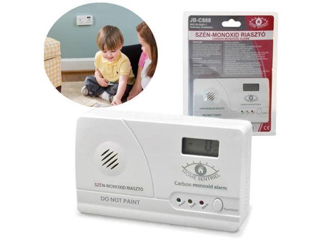 Szén-monoxid jelző a fűtési szezonra: CO koncentráció megjelenítése LCD kijelzőn / Tudd biztonságban családodat!