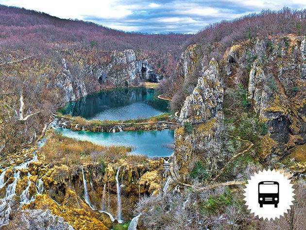 PLITVICEI JÉGVARÁZS: non-stop autóbuszos utazás Horvátországba télen, a világ egyik legszebb tórendszeréhez / fő
