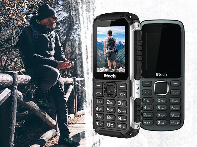 Btech mobiltelefonok és kültéri mobil, ami egyben powerbank is / DUAL SIM-es, kártyafüggetlen készülékek