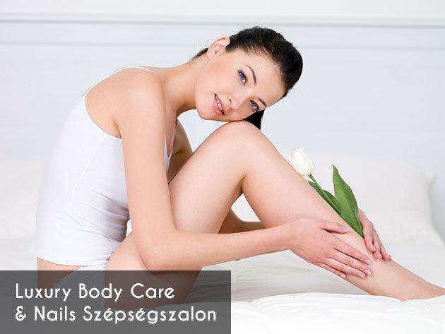 Visszér kezelés: 3+1 alkalmas hajszálér, visszér és seprűvéna kezelés UV Soft Laserrel a Luxury Body Care & Nails Szépségszalonokban, több budapesti helyszínen