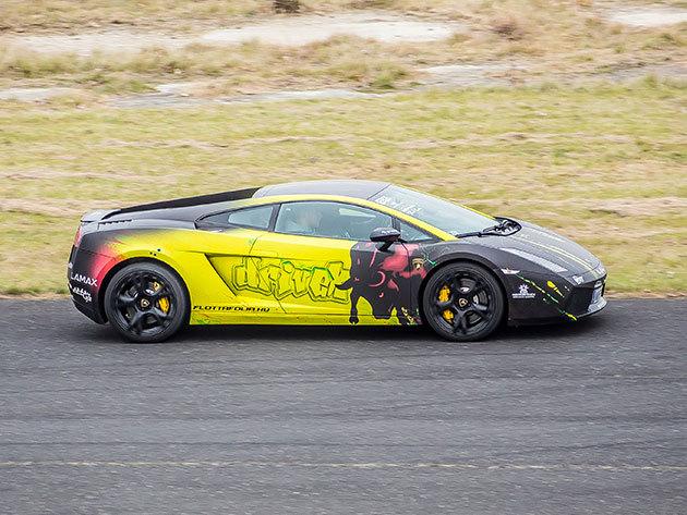 Városi vezetés egy Lamborghini Gallardo-val - 60 perc