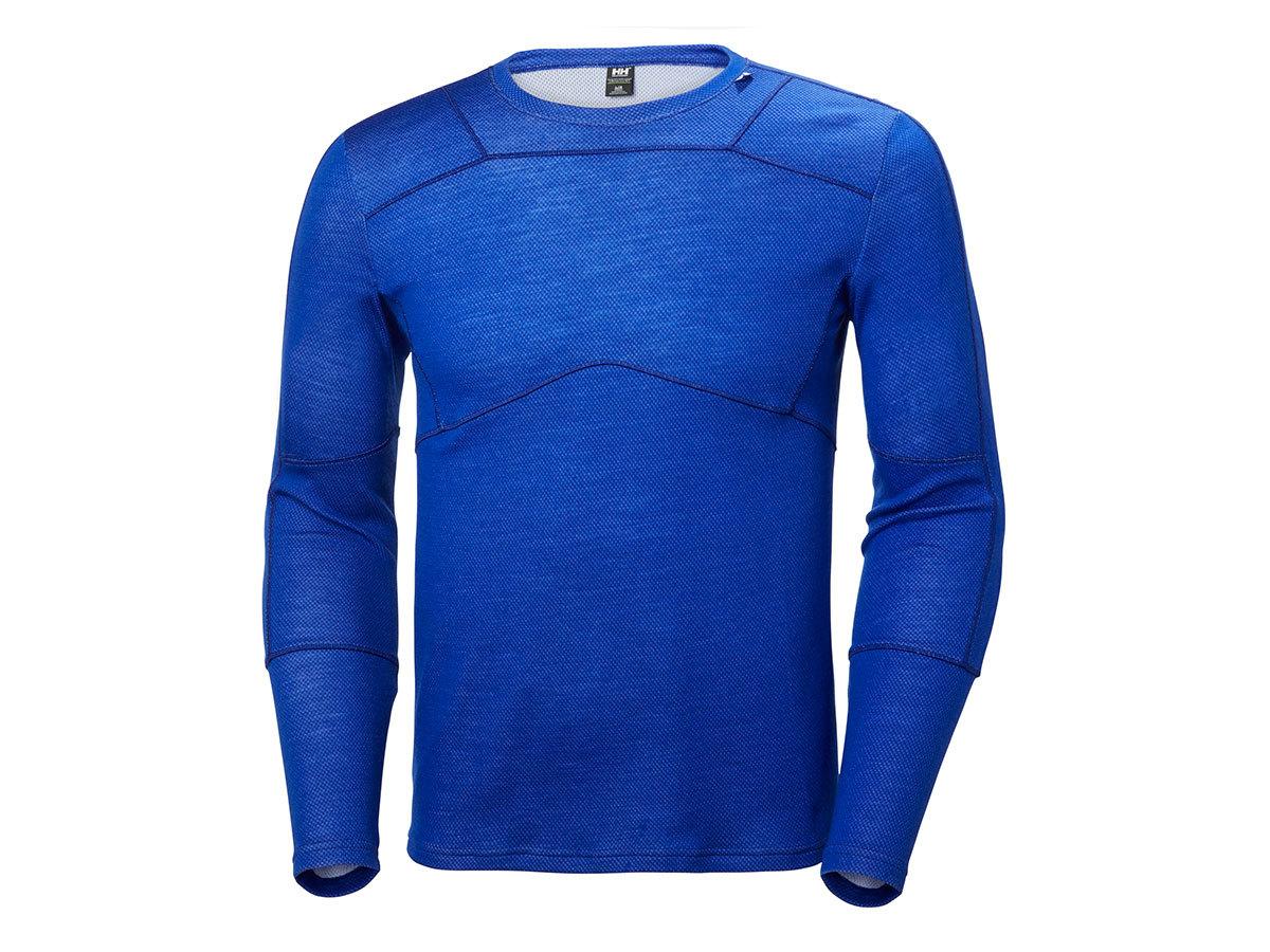 Helly Hansen HH LIFA MERINO CREW - OLYMPIAN BLUE - L (48316_563-L )