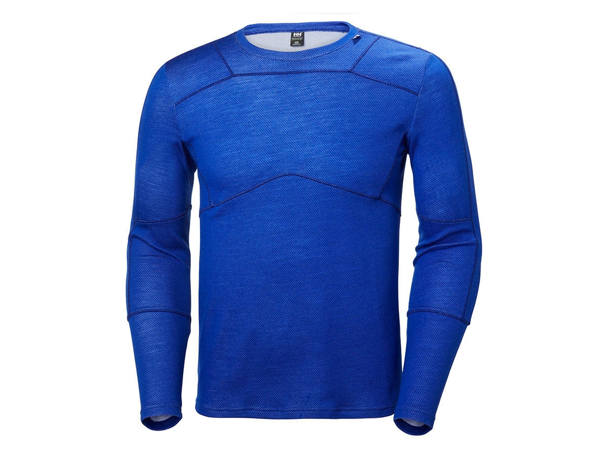 Helly Hansen HH LIFA MERINO CREW - OLYMPIAN BLUE - XXXL (48316_563-3XL )