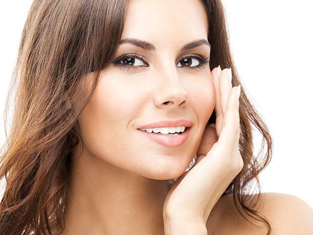 Teljes arc kezelése (szem környék, szemöldök, homlok, mérgesránc,száj környék,orca,v vonal, toka)