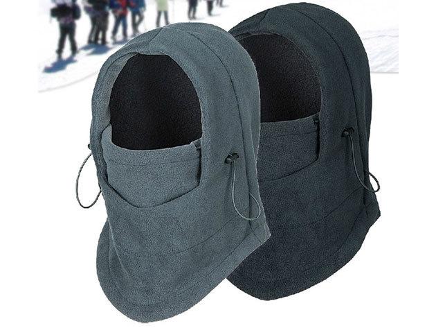 Téli thermo maszk: sál- és sapkaként is funkcionál, puha és kényelmes, állítható méretű