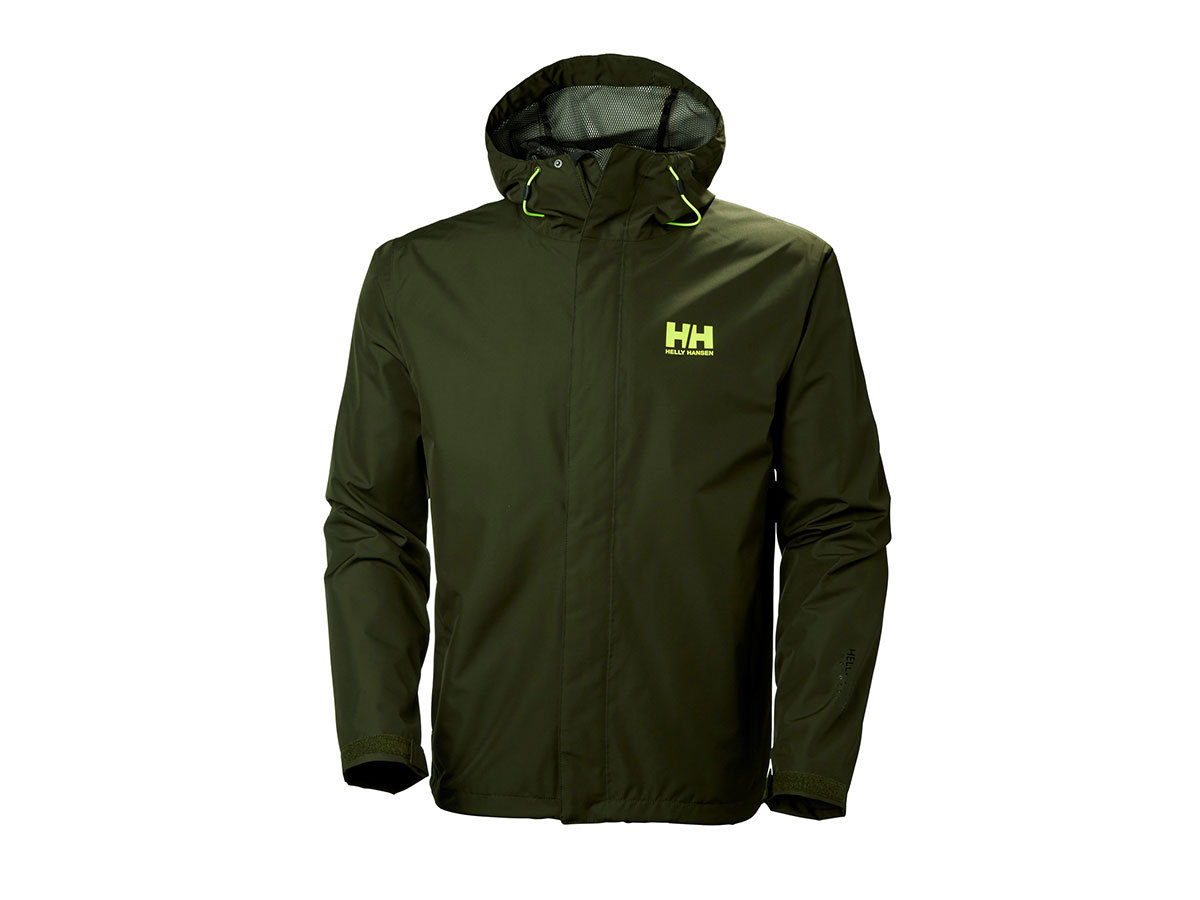 Helly Hansen SEVEN J JACKET - FOREST NIGHT - M (62047_469-M )